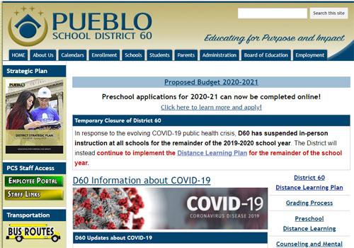 Pueblo School District 60
